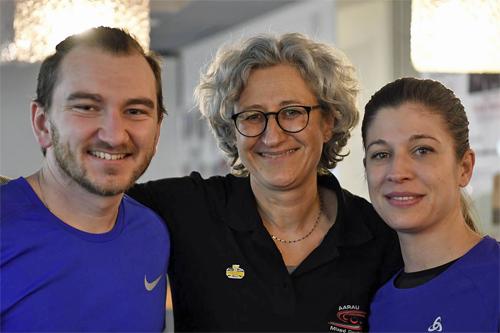 MD Trophy Aarau 2018 - Daniela Rupp und Kevin Wunderlin (3. Rang)