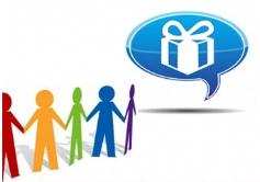 Nous récompensons nos clients fidèles par un cadeau de parrainage