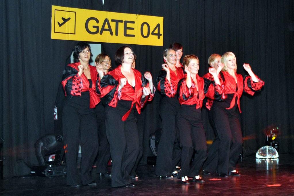Die Jazztanzgruppe des TV04 Wallau