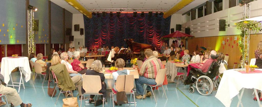 Stimmungsvolles Ambiente im Musik- und Kulturhaus Niederwalgern