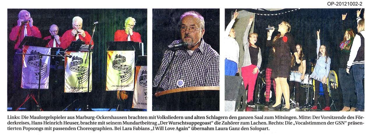 Oberhessische Presse vom 2. Oktober 2012, Teil 2