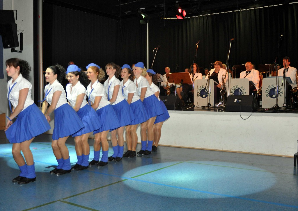 Showtanz-Einlage der Musicalcompany des STEP IN