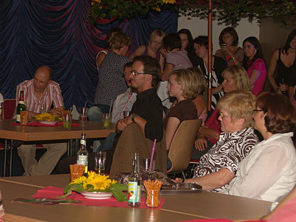 Unter den Gästen: Matthias Heuser