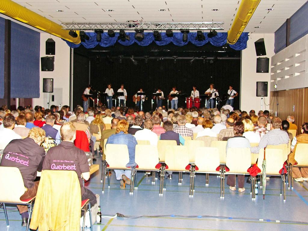 Gut gefüllter Saal im Musik- und Kulturhaus