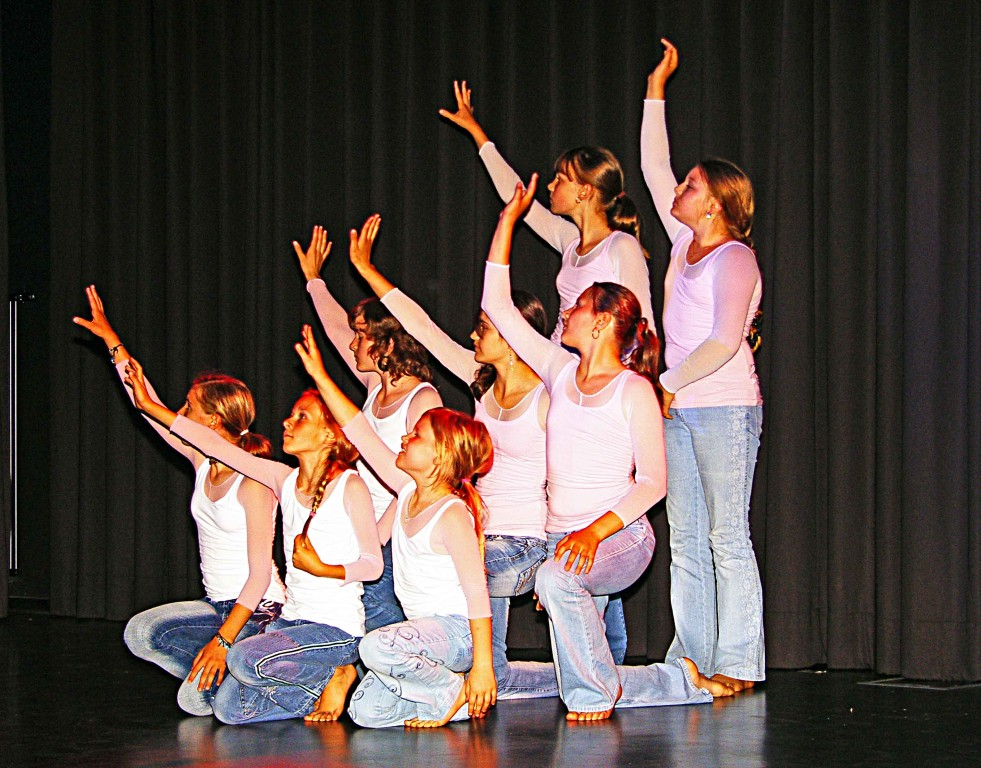 Tanzgruppe der SG Niederwalgern