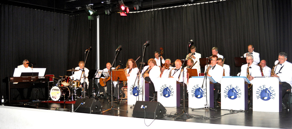 Die Marburger Big-Band WHITE KEYS