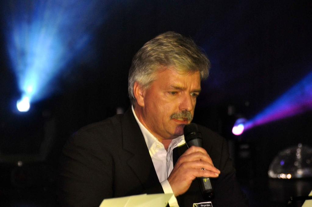 Bürgermeister Peter Eidam als Sänger