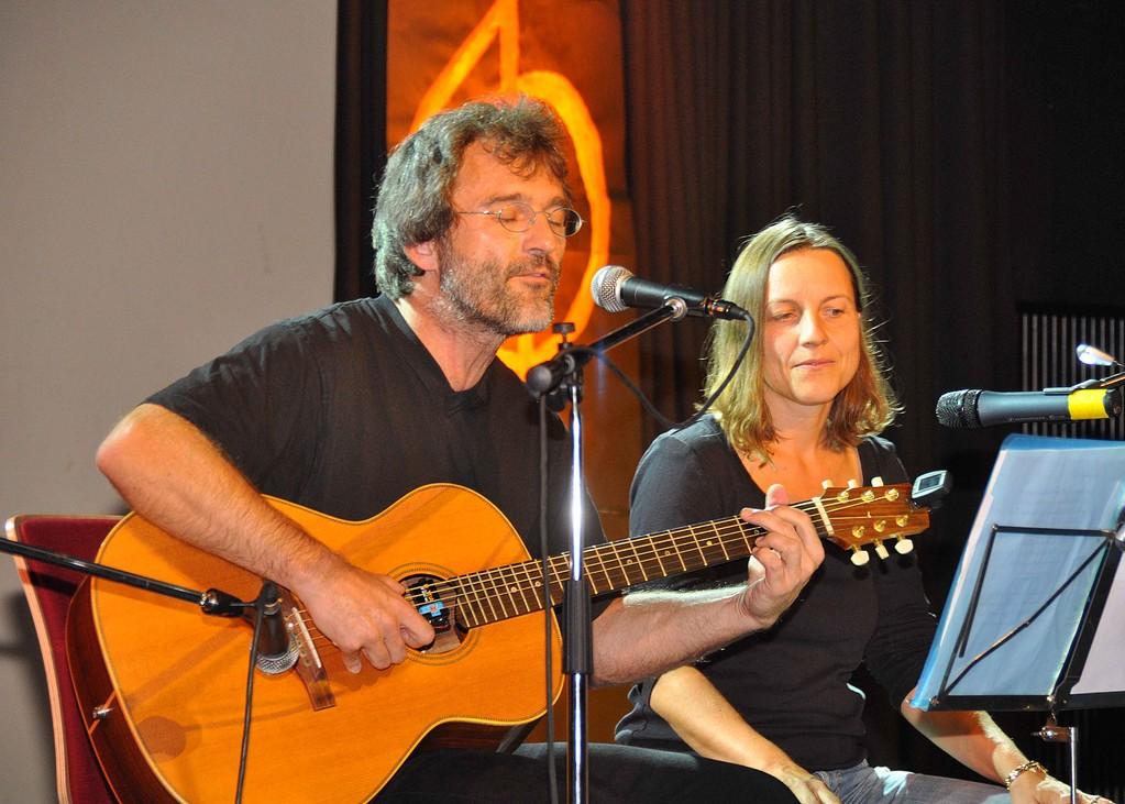 Christian Gömpel mit Partnerin Anna Stach