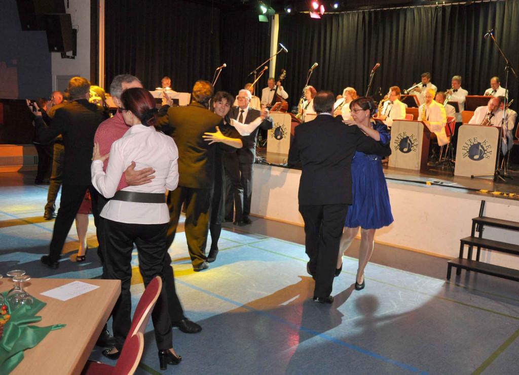 Fleißige Tänzer
