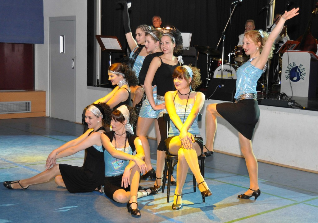 Tanzshow der Musicalcompany des STEP IN