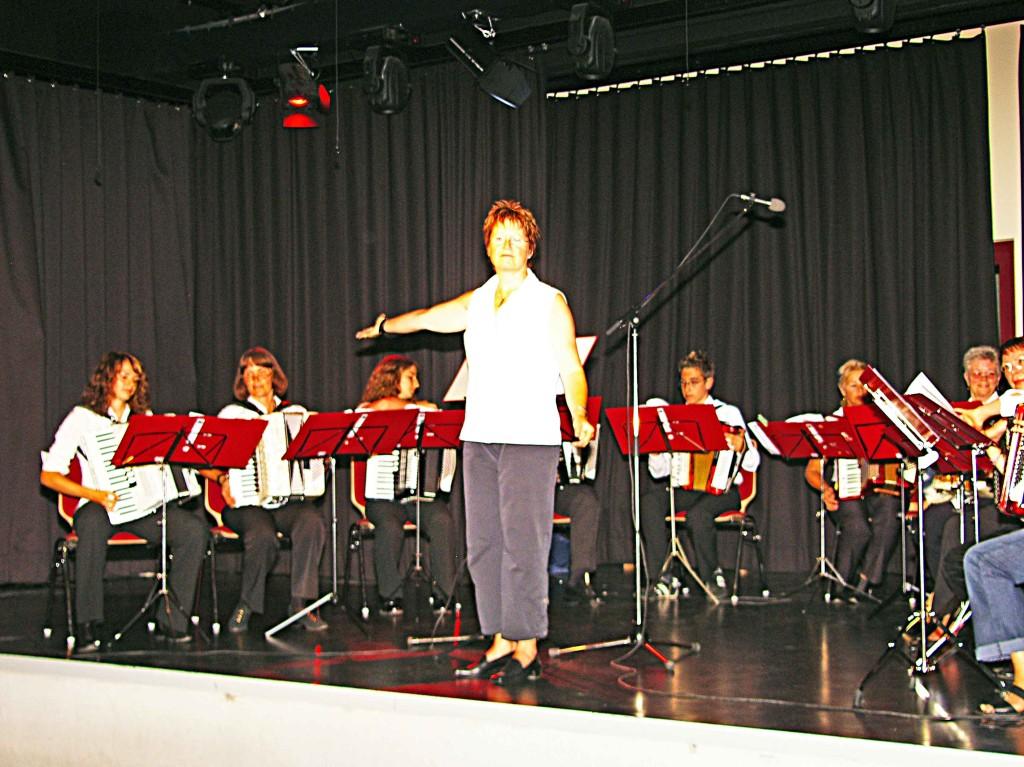 Akkordeongruppe des KZV Wenkbach