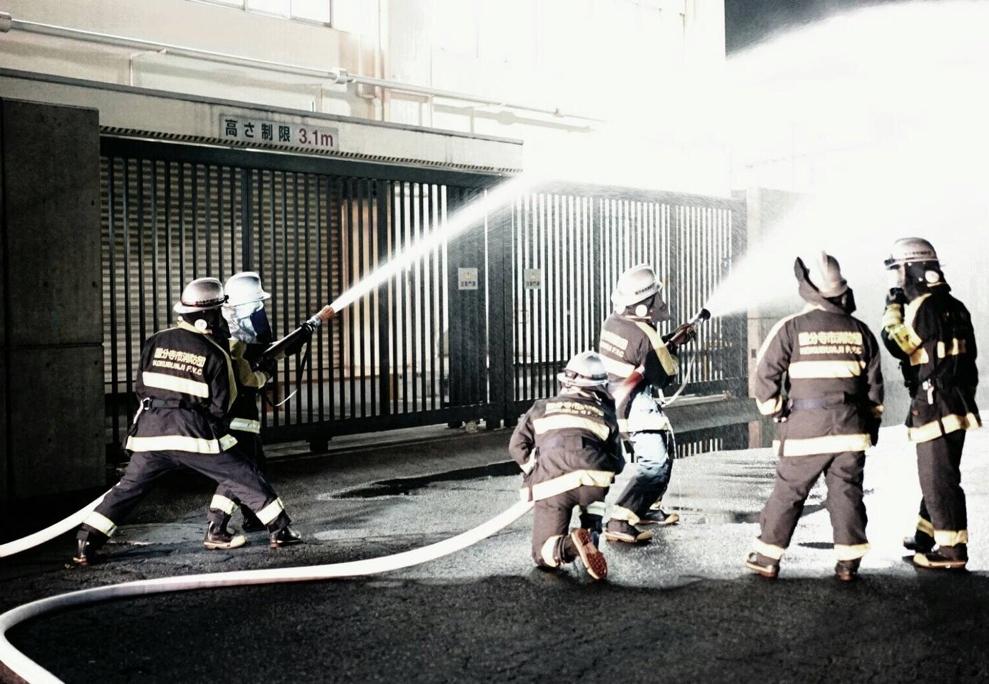 国分寺市消防団第六分団訓練