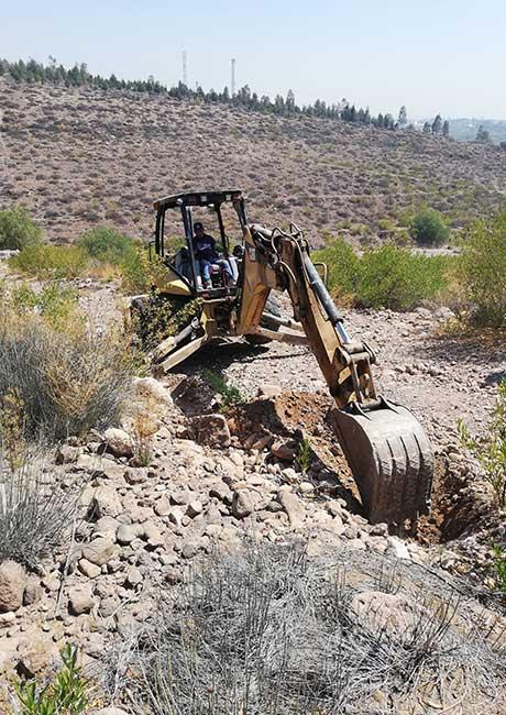 Excavación de Pozo a Cielo Abierto (PCA)