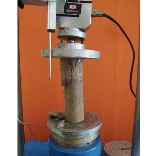 Ensaye de compresión simple (Mecánica de suelos)