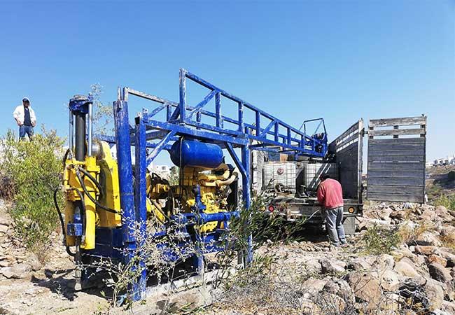 Equipo de perforación de suelos SPT