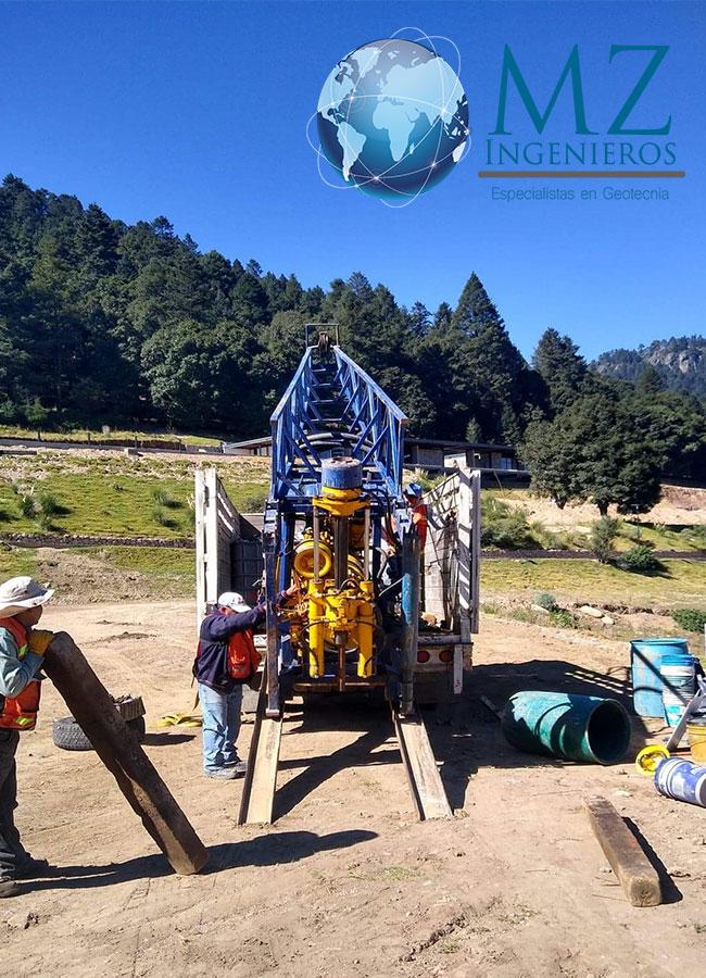 Inicio de exploración de mecánica de suelos