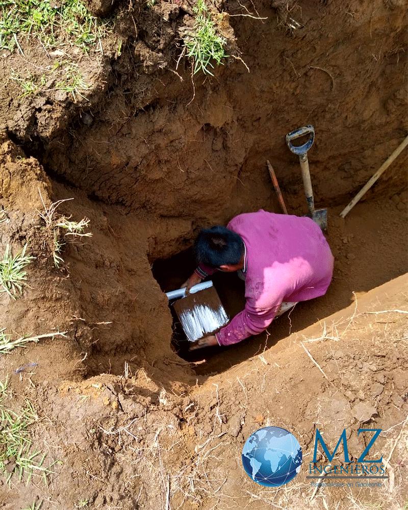 PCA por medios manuales para mecánica de suelos