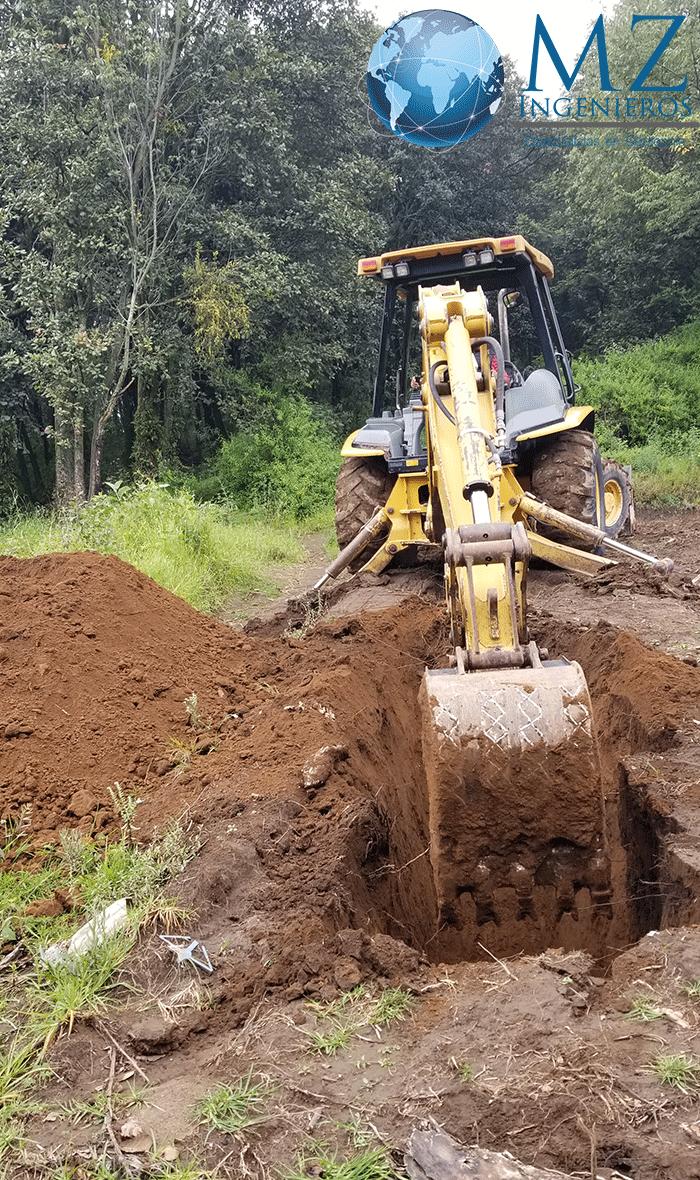 Trabajos de mecánica de suelos con técnica PCA