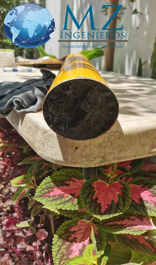 Muestreo inalterado con tubo shelby