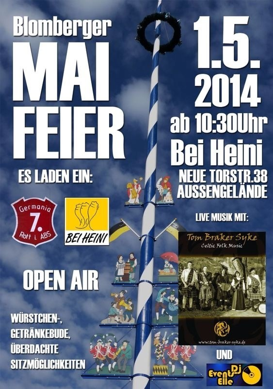 Blomberger Mai-Feier 2014