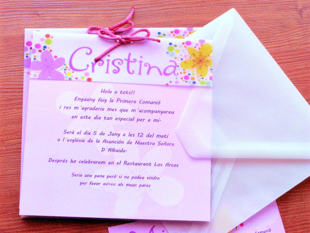 3d087a927975d INVITACIONES COMUNION ESPECIALES - dobleainvitaciones invitaciones ...