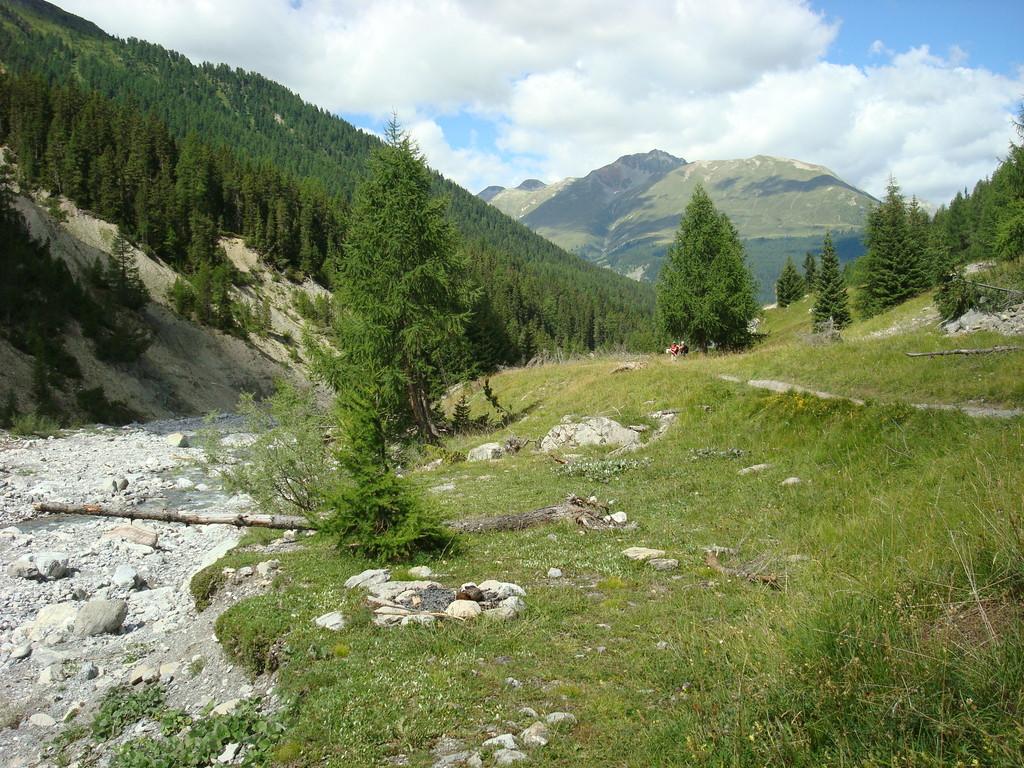 kurz nach der Nationalparkhütte Varusch