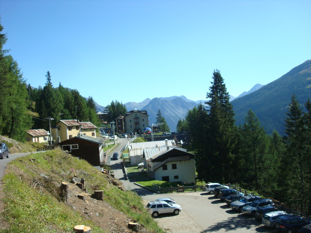 Arnoga von hier Start ins Val Viola (Italien)