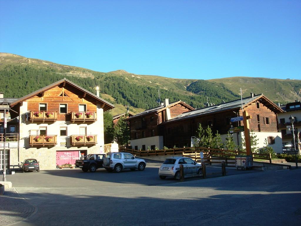 Livigno Dorfteil San Rocco