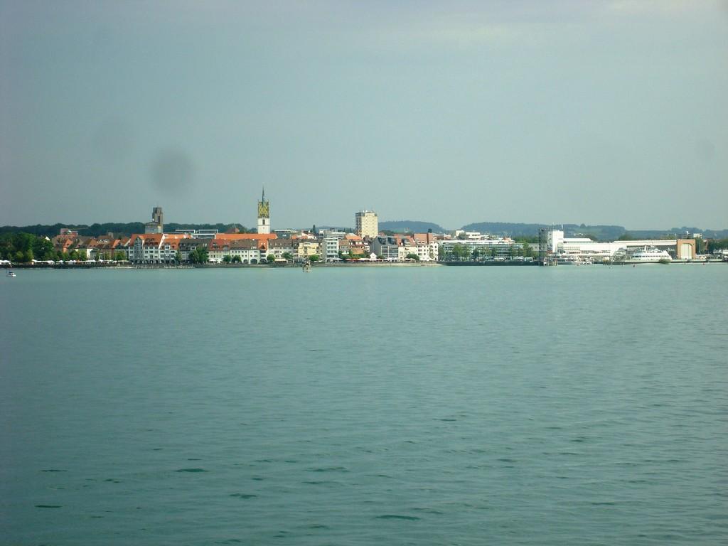 Friedrichshafen in Sicht