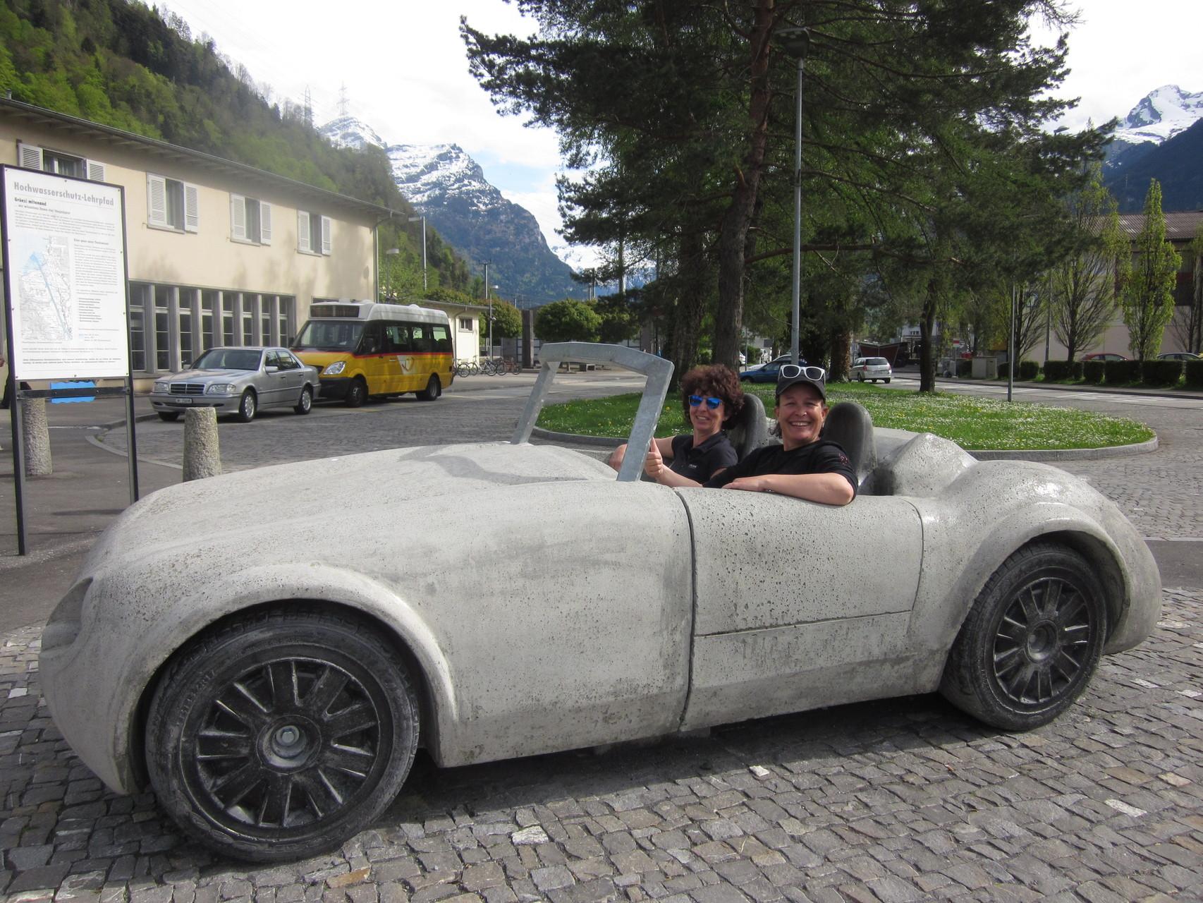 ob die beiden in St. Gallen angekommen sind?