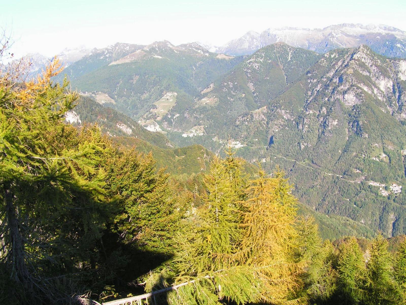 Blick ins Valle Onsernone