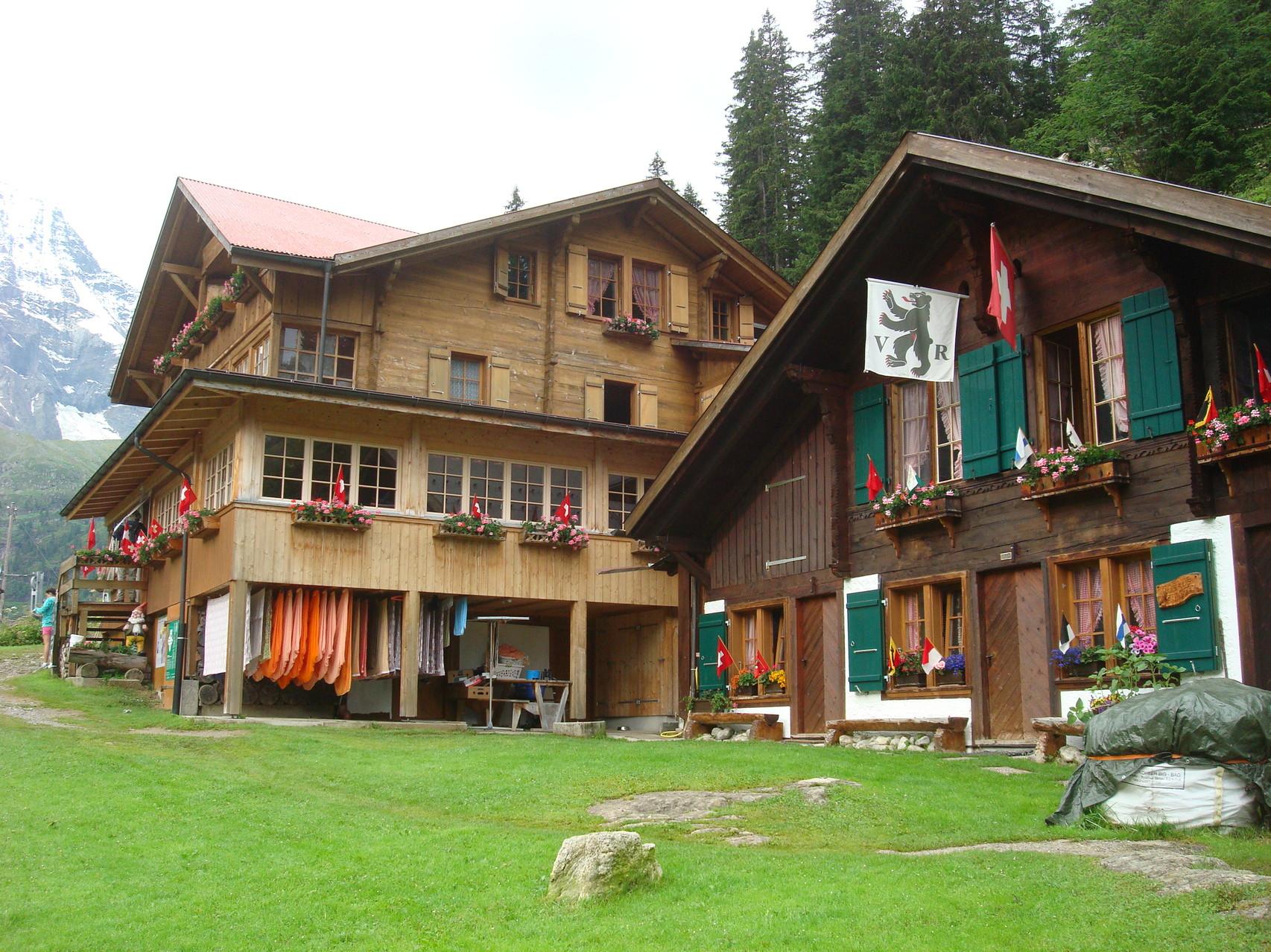 unsere Unterkunft: Berggasthaus Tschingelhorn