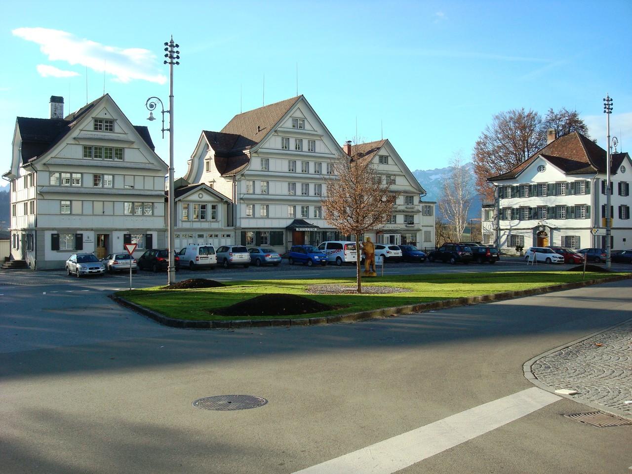 Dorfplatz Gais