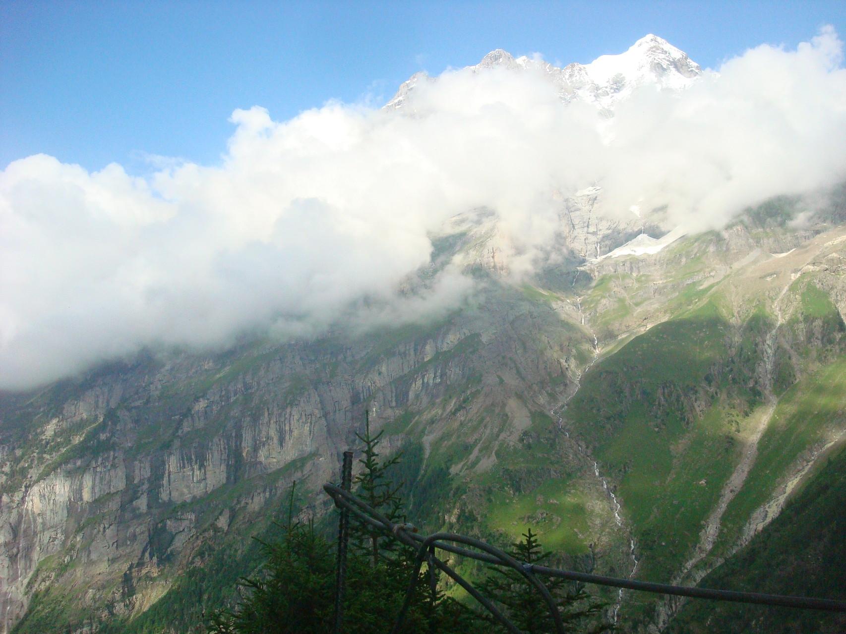 Jungfrau, leider etwas wolkenverhangen