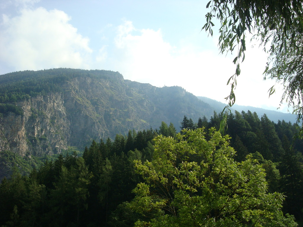 noch ein Blick hinauf zu den andern nach San Romerio