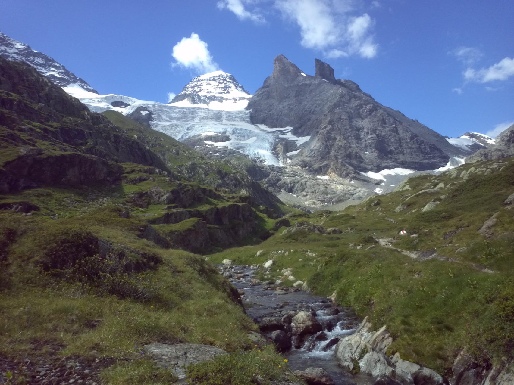 Gletscherbedeckt: Tschingelhorn