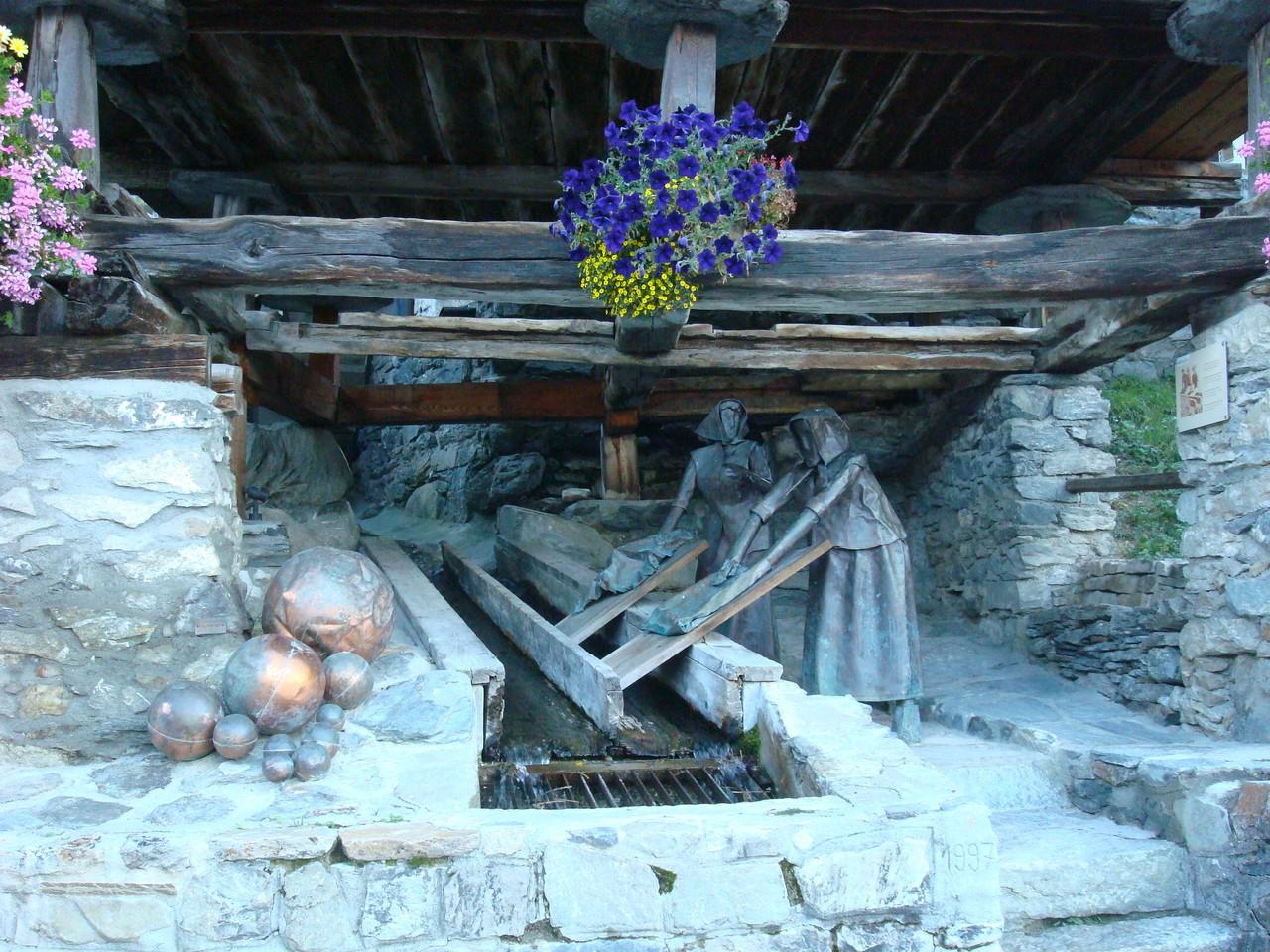St. Luc - Waschfrauen