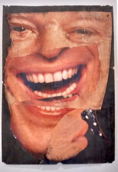 """""""Das Arschloch"""" Collage von Tobias Küch"""