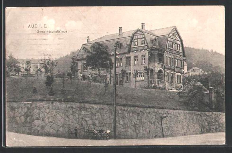 Nach der Erbauung 1908
