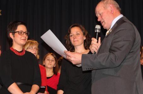 Goldene Stimmgabel . Sonja Wißmüller - 2013  - mit Ursula Bauer und Paul Kolb