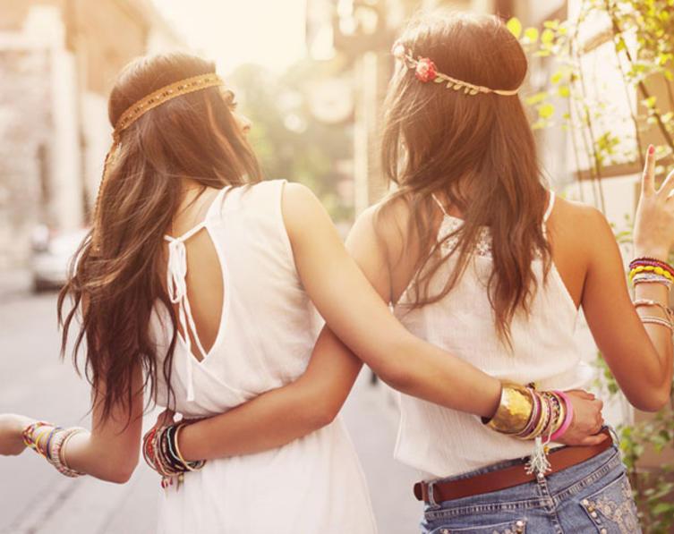 Zwei Beste Freundinnen