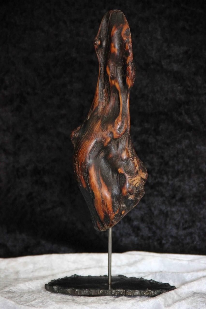Treibholzkunst Treibholzskulptur ''Flamme''