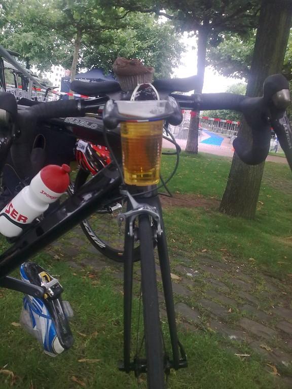Nach dem Wettkampf- Neue Aero-Bottle und Wettkampfverpflegung