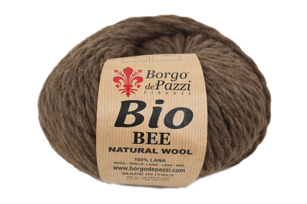 100% ongeverfde wol