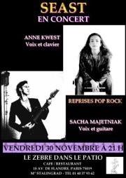 Seast en concert, le 30 novembre 2012
