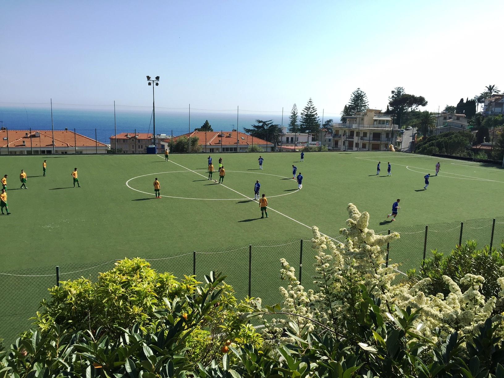 Seborga vs Bergamo Longuelo in Ospedaletti