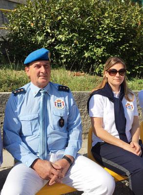 Comandante Luigi Zanni e Principessa Nina Menegatto - Commander Luigi Zanni and Princess Nina Menegatto