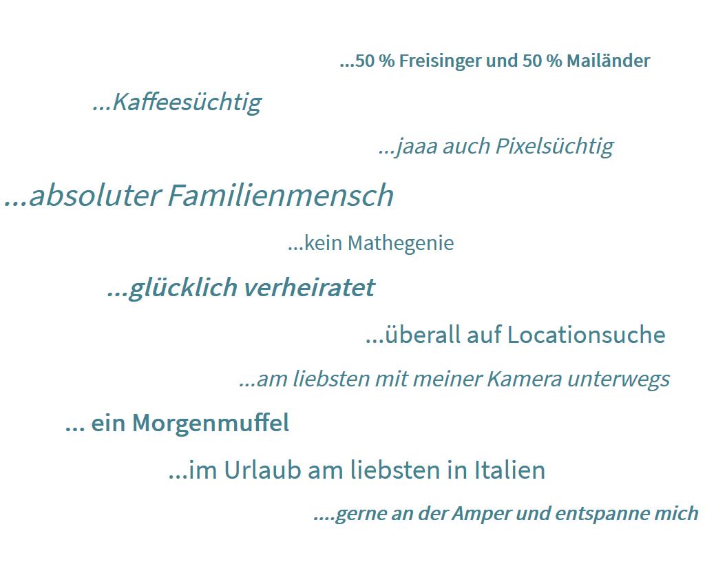 Funfacts über Andreas Reiter Fotograf aus Freising