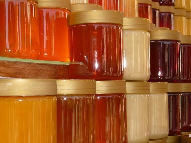 Honig in seiner Vielfalt