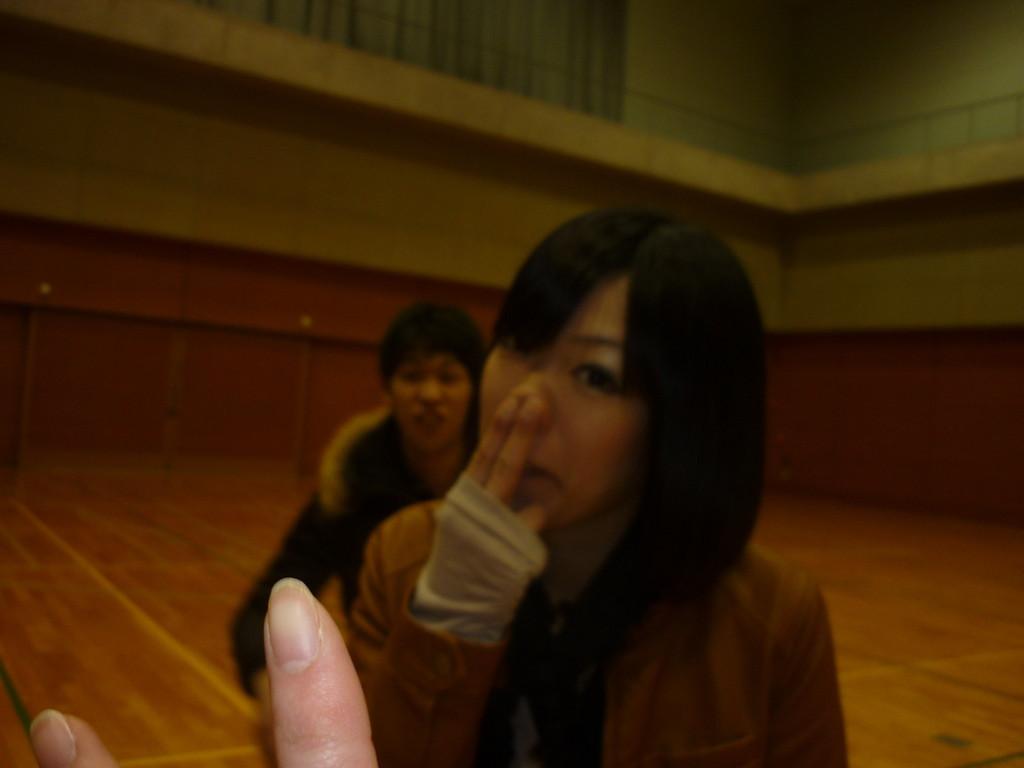 ピント、指にいっちゃったね(-_-;)